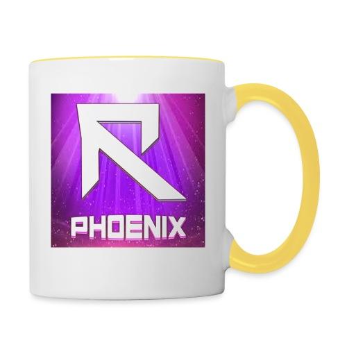 RTrixx Phoenix Logo - Contrasting Mug