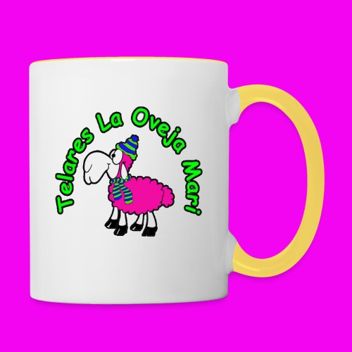 TELARES LA OVEJA MARI - Contrasting Mug