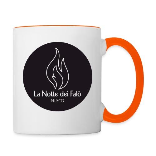 Logo Notte dei falo 3 - Tazze bicolor