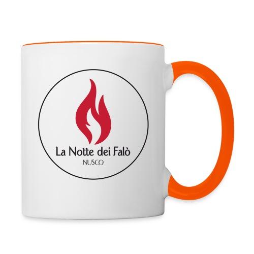 Logo Notte dei falo 2 - Tazze bicolor