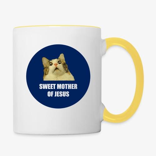 SWEETMOTHEROFJESUS - Contrasting Mug