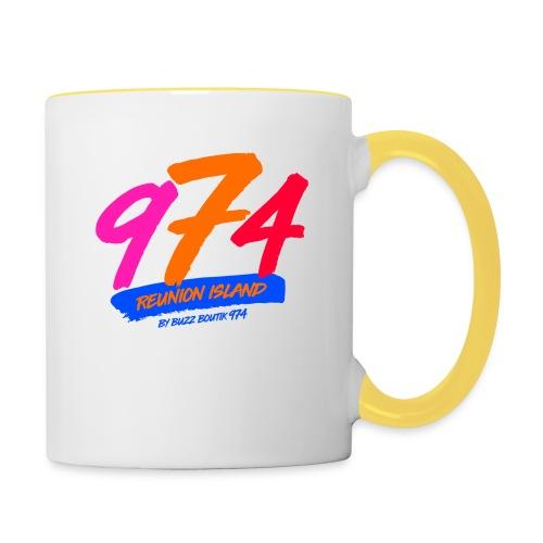 Collection 974 REUNION ISLAND - Mug contrasté
