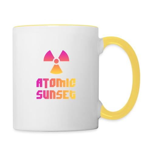 ATOMIC SUNSET - Mug contrasté