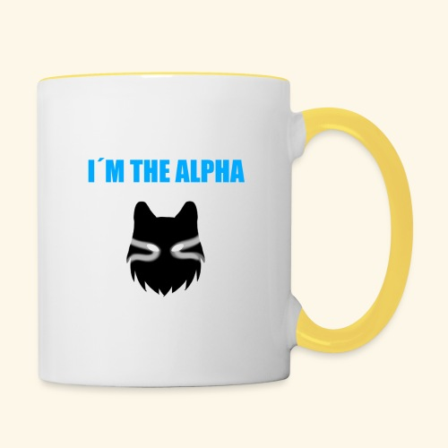 im the alpha - Kaksivärinen muki