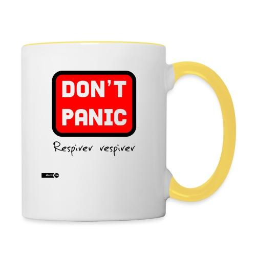 don't panic, respirer - Mug contrasté