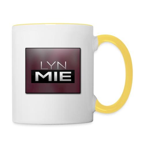 Lyn Mie Logo - Tofarvet krus