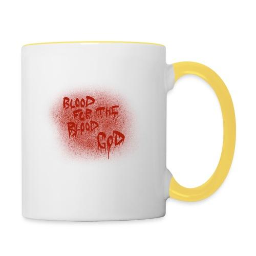 Blood For The Blood God - Contrasting Mug