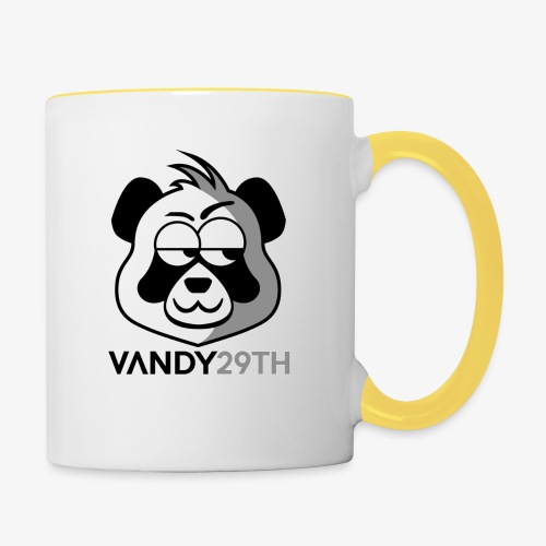 Panda logo - Contrasting Mug