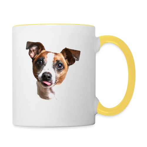 Jack Russell - Contrasting Mug