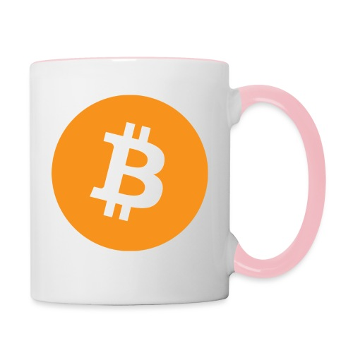 Bitcoin - Contrasting Mug