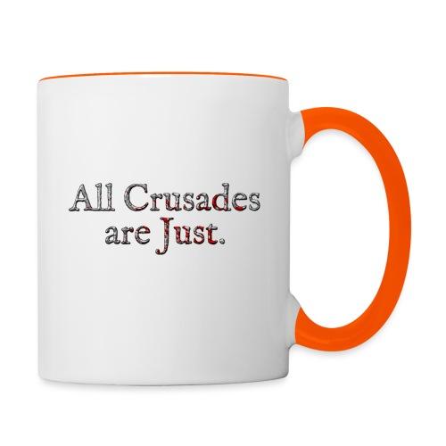 All Crusades Are Just. Alt.2 - Contrasting Mug