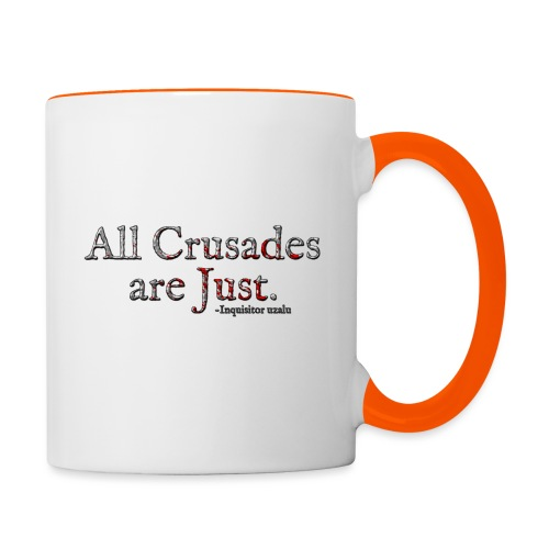 All Crusades Are Just. Alt.1 - Contrasting Mug
