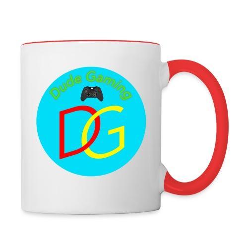 Dude Gaming - Tofarvet krus