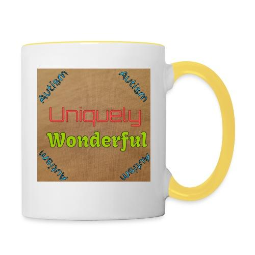 Autism statement - Contrasting Mug