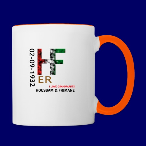 H&F ER - Tazze bicolor