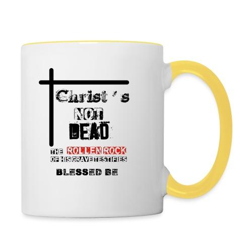 Christ's Not Dead - Mug contrasté