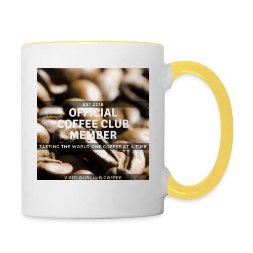 Official Coffee Club Member - Contrasting Mug