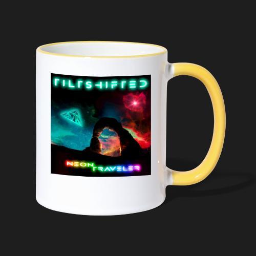TiltShifted - Neon Traveler - Kaksivärinen muki