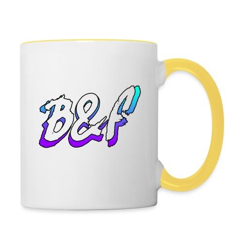 Purple and Blue Fade - Contrasting Mug