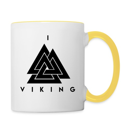 I lov Viking - Mug contrasté