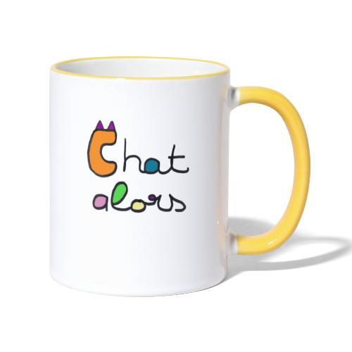 Chat Alors - Mug contrasté