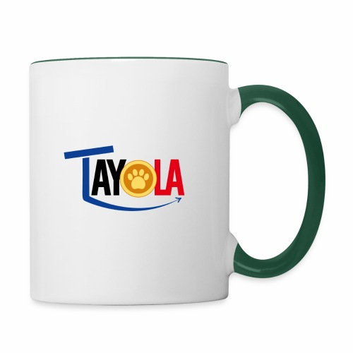 TAYOLA Nouveau logo!!! - Mug contrasté