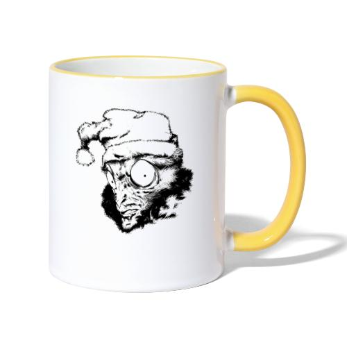 Monkey Christmas - Mug contrasté