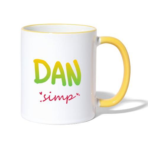 We all simp for Dan - Tofarvet krus