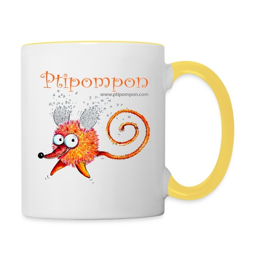 Ptipompon-6 - Mug contrasté