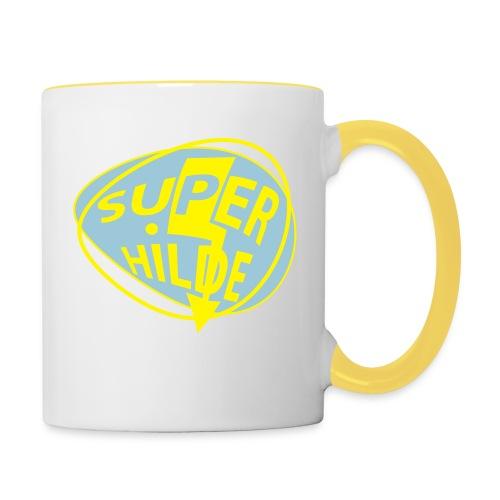 superhilde - Tasse zweifarbig