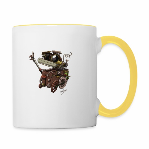 Bout 2 Robot - Contrasting Mug