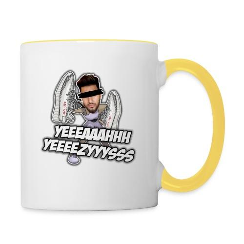 Yeah Yeezys! - Tasse zweifarbig