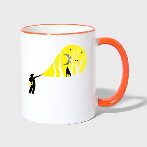 Explorateur vie sauvage - Mug contrasté