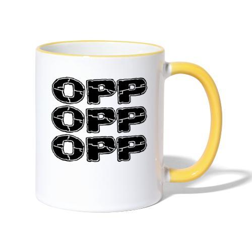 OPP Print - Kaksivärinen muki