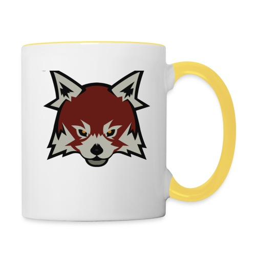 Red panda merch - Contrasting Mug