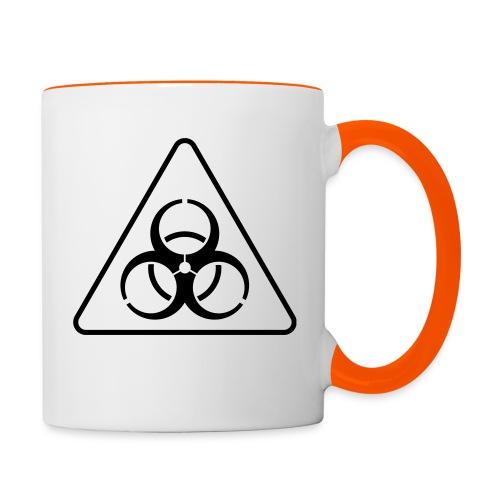 Virus - Tasse zweifarbig