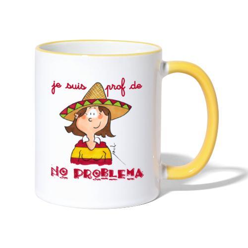 no problema - Mug contrasté