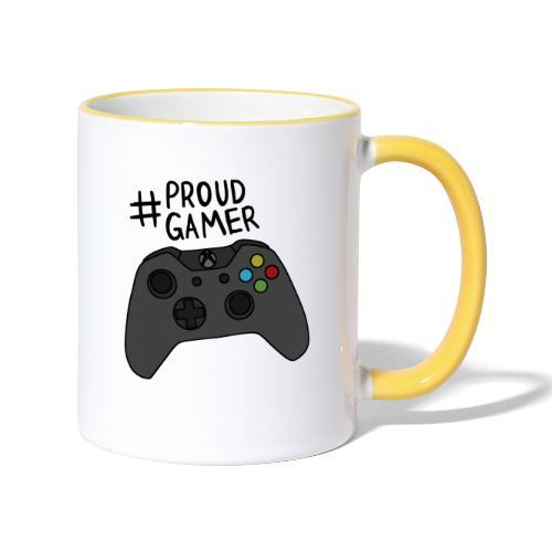 #proudxboxgamer - Kaksivärinen muki