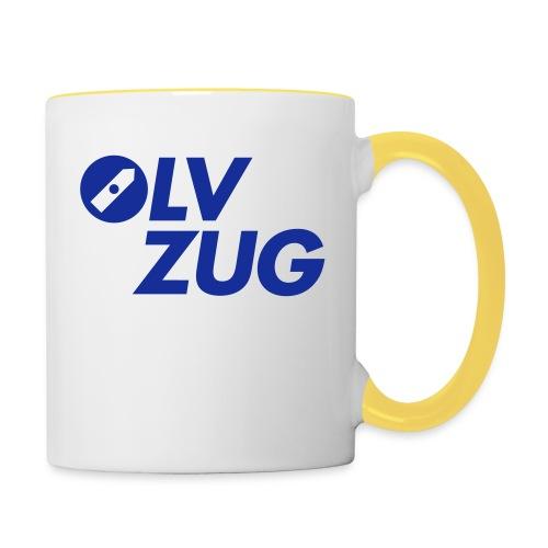 OLV_Zug_Logo_2_Z_ohneRand - Tasse zweifarbig