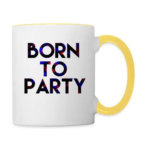 Born to Party - Contrasting Mug