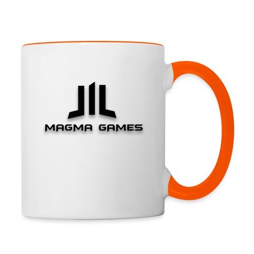 Magma Games t-shirt - Mok tweekleurig
