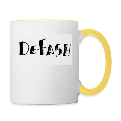Defash1-png - Mug contrasté