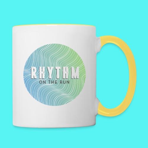 Rhythm On The Run Logo - Contrasting Mug