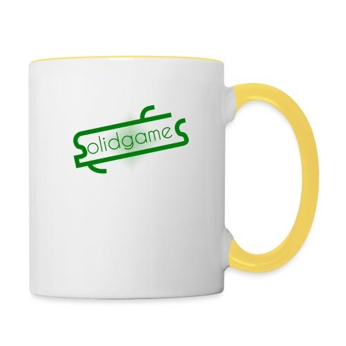 Solidgames Crewneck Grey - Contrasting Mug