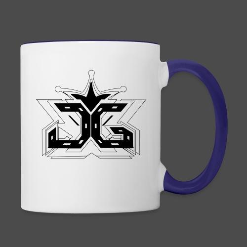 LOGO OUTLINE SMALL - Contrasting Mug