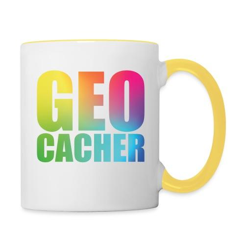 Geocacher (summer2016) - Kaksivärinen muki