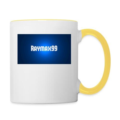 Raymax99 Herr Tröja - Tvåfärgad mugg