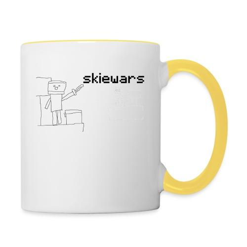 SKIEWARS - Mok tweekleurig