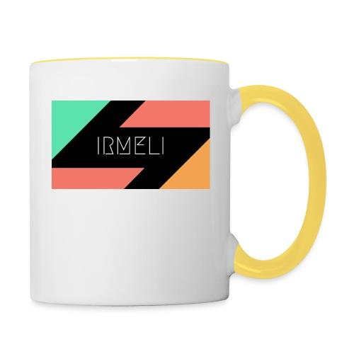 Irmelis Logo glothes - Kaksivärinen muki
