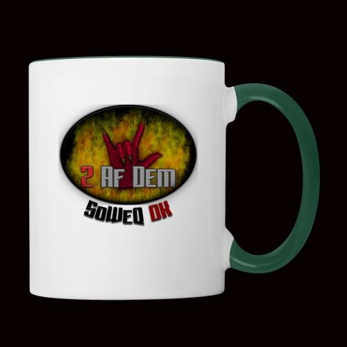 #2AfDem Collection ! - Tofarvet krus
